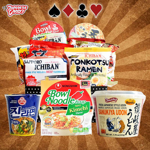 Roulette Snack Box: Instant Ramen and Noodles