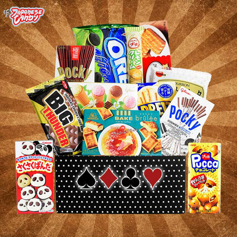 Roulette Snack Box - Discover Japanese and Asian Cookies, Biscuits, & Bakery