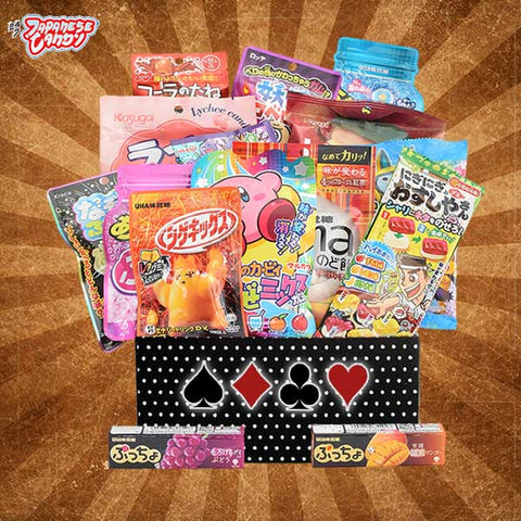 Roulette Snack Box - Discover Japanese and Asian Candy & Gum