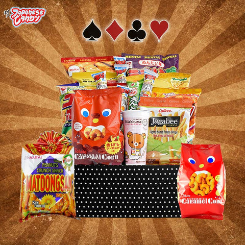 Roulette Snack Box - Discover Japanese and Asian Chips, Corn Puffs, and Senbei