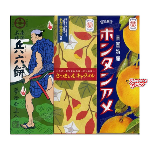 Botan Rice Candy Trio Assortment