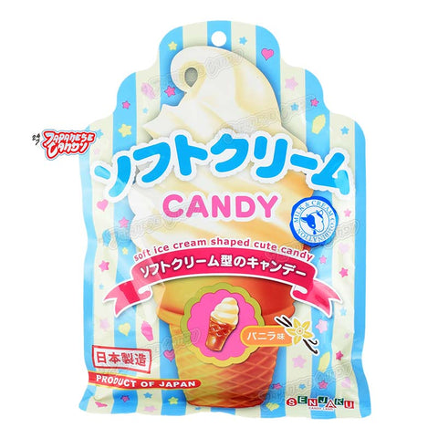 Japanese Candy: Senjakuame Soft Cream Hard Candy