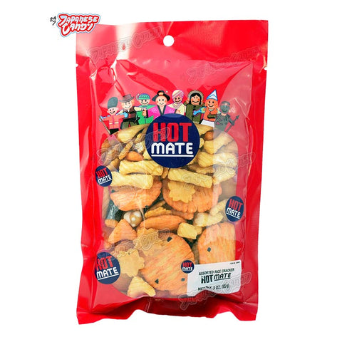 Thailand Snack: Shirakiku Hot Mate Assorted Rice Cracker
