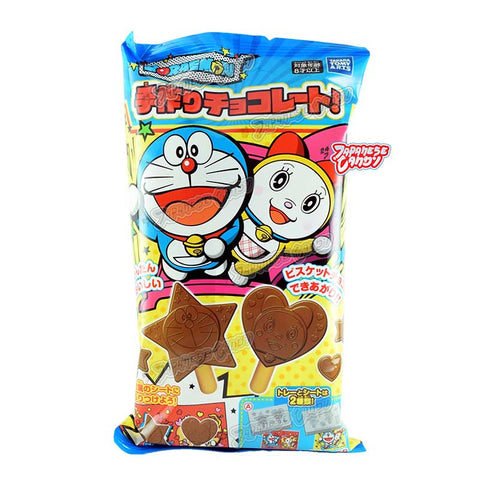 Japanese Candy: Takara Tomy Arts Doraemon Tezukuri Chocolate Biscuit Stick (DIY Candy Kit)