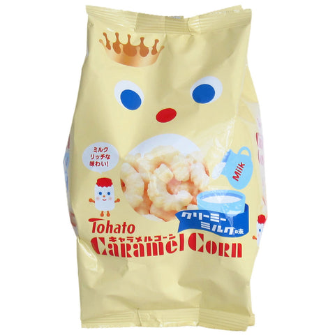 Japanese Food: Tohato Caramel Corn Puff