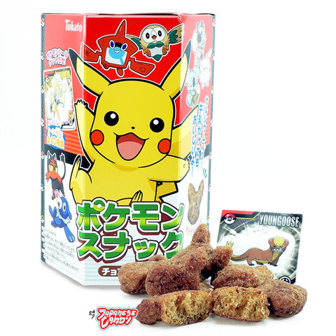Japanese Snack: Tohato Pokemon Chocolate Corn Puff
