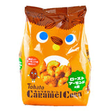 Japanese Snacks: Tohato Roasted Almond Caramel Corn Puff