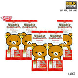 Japanese Candy: Top Seika Rilakkuma Gum Set (includes sticker & card)