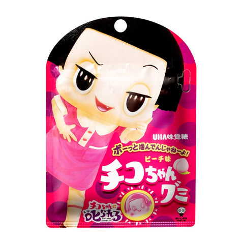 Japanese Candy: UHA Chico Chan Peach Gummy