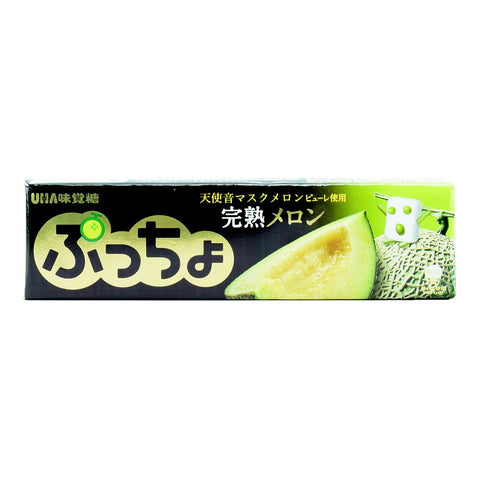 Japanese Candy : UHA Puccho Kanjuku Melon Soft Candy
