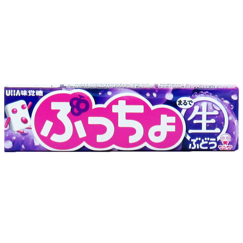 Japanese Candy : UHA Puccho Soft Candy (Grape)