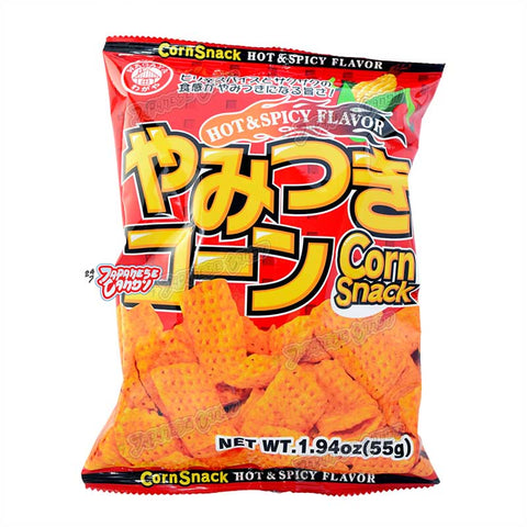 Taiwanese Snack: Wagaya Hot & Spicy Corn Snack