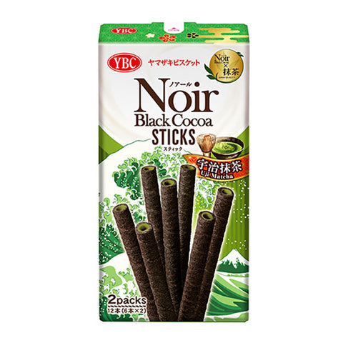 Noir Black Cocoa Sticks (Uji Matcha)