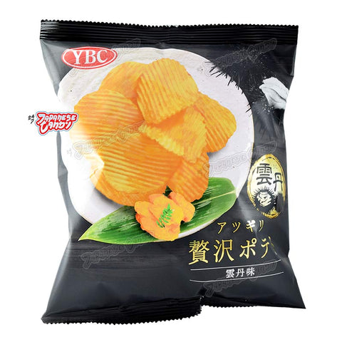Japanese Snack: YBC Zeitaku Uni Potato Chips