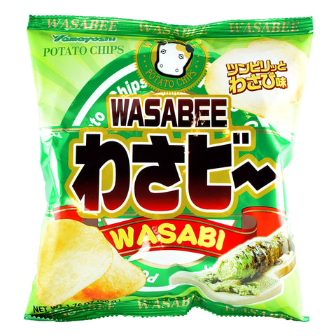Japanese Snack: Yamayoshi Wasabee Potato Chips