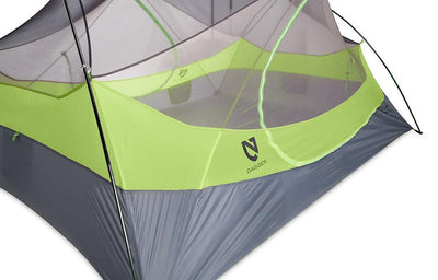 Nemo Dagger Series 2P Tent, Ultralight Roomy, Bike/Backpacking, Green