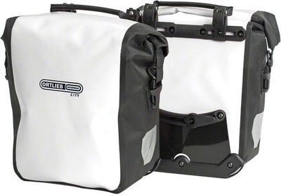 Ortlieb Front Bicycle Panniers, Front-Roller City, Pair