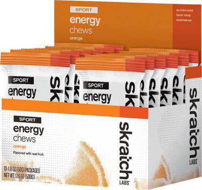 Skratch Labs Sport Energy Chews, Box of 10