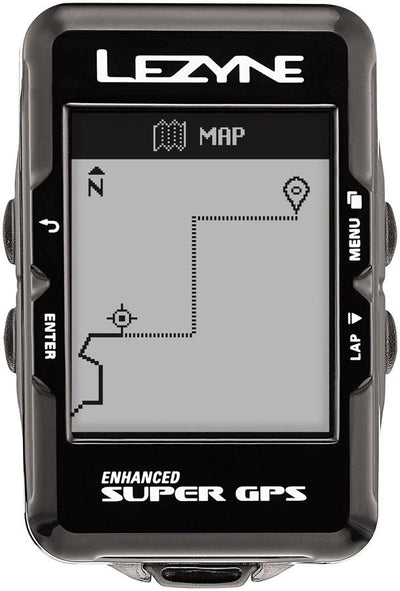 Lezyne Super GPS Loaded Cycling Computer Bundle