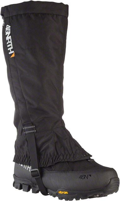 45NRTH Bergraven Technical Fatbiking Gaiters, Black