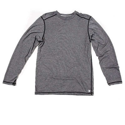 Borealis Wool Co Men's Transit Stripe Long Sleeve