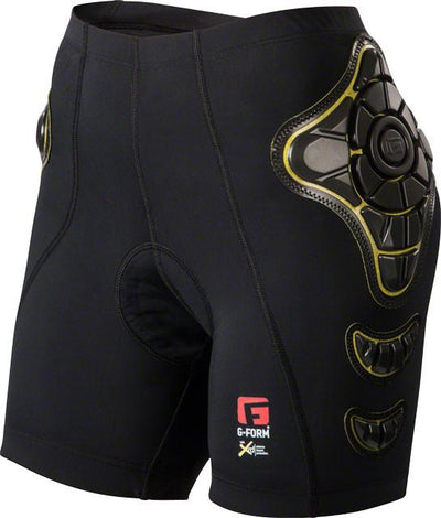 G-Form Pro-B Women's Compression Shorts with Chamois