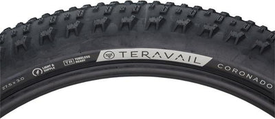 "Teravail Coronado Tire, 27.5"" x 3.0"", Light & Supple"