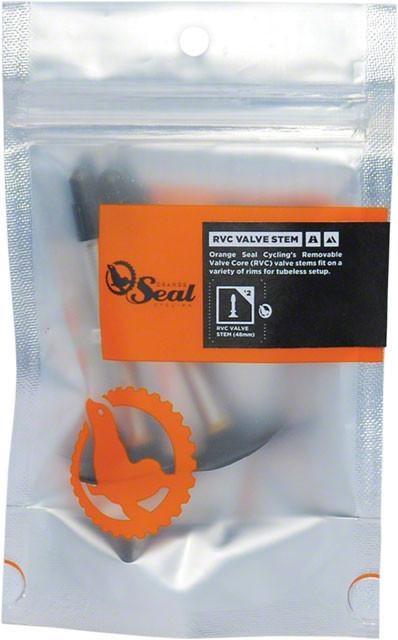 Orange Seal RVC Tubeless Valve, Pair