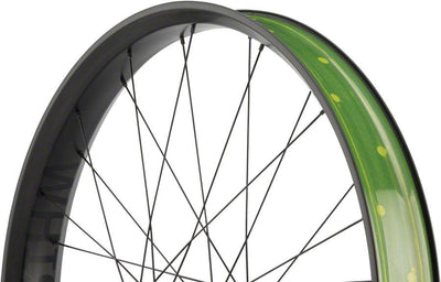 "Whisky No.9 Fat 70w Front Wheel, 26"" DT 350 Big Ride"