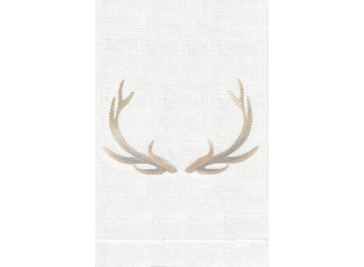 Elk - Natural on White