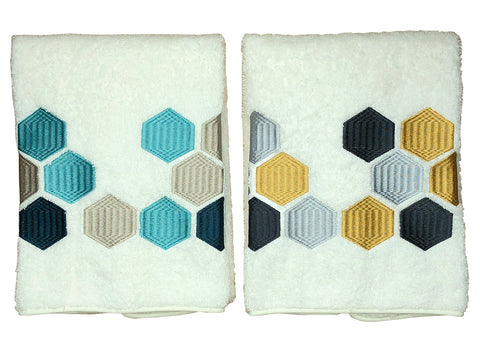 Hexagon Roma Bath Towels