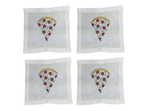 Pizza Cocktail Square Set