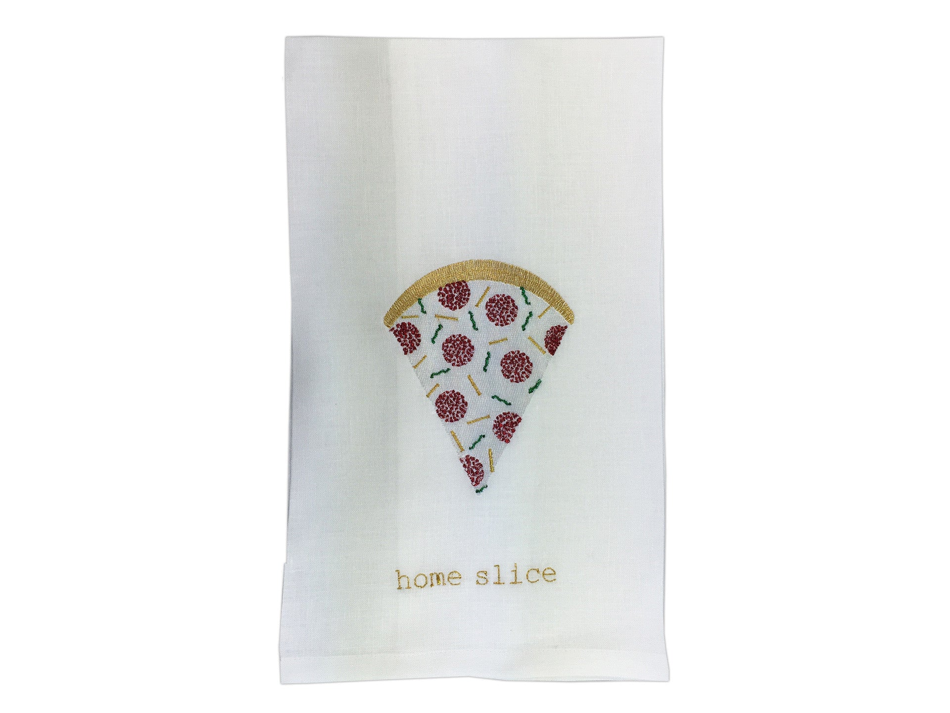 Home Slice Tea Towel
