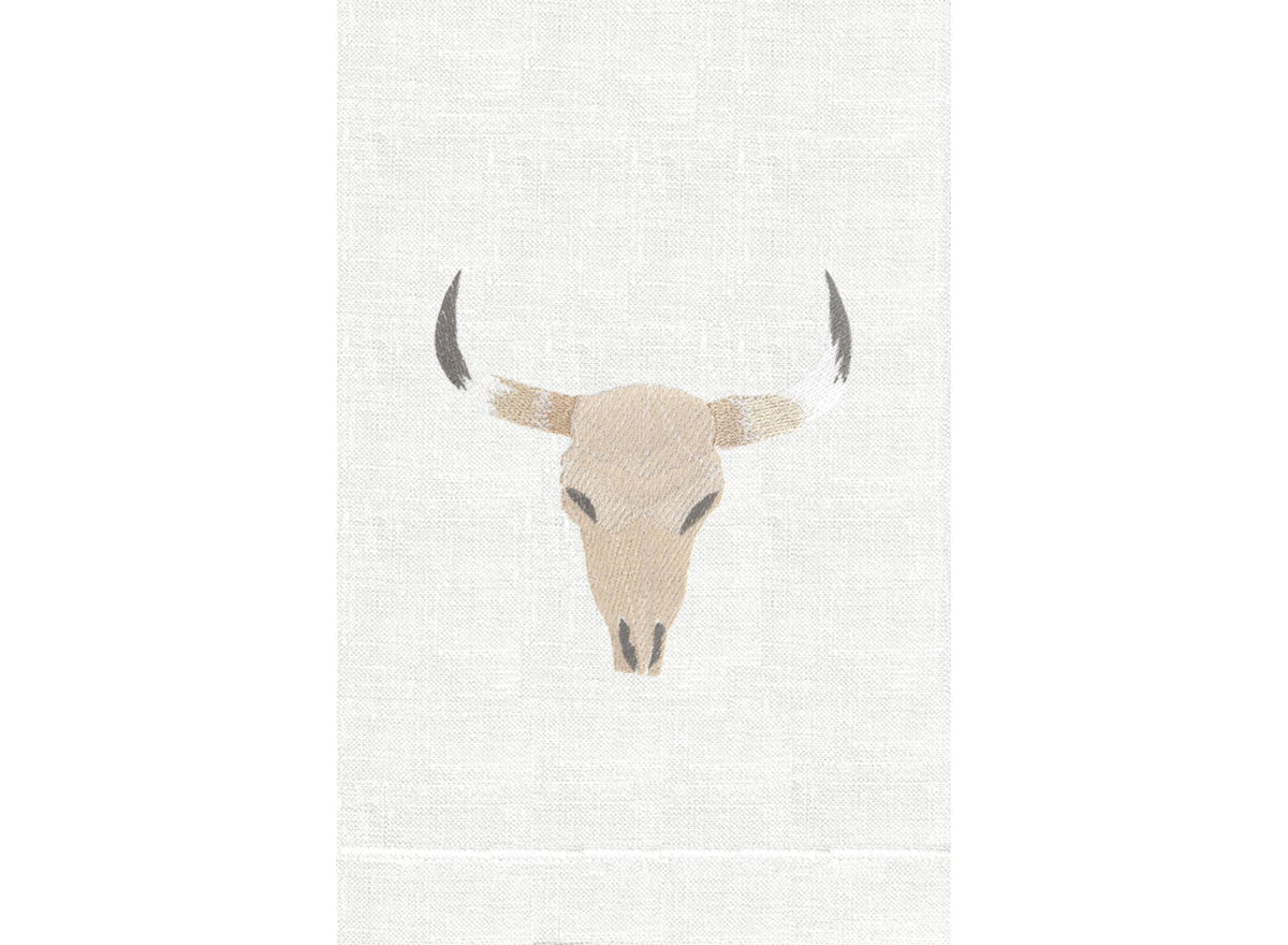 Natural - Bone on White Linen