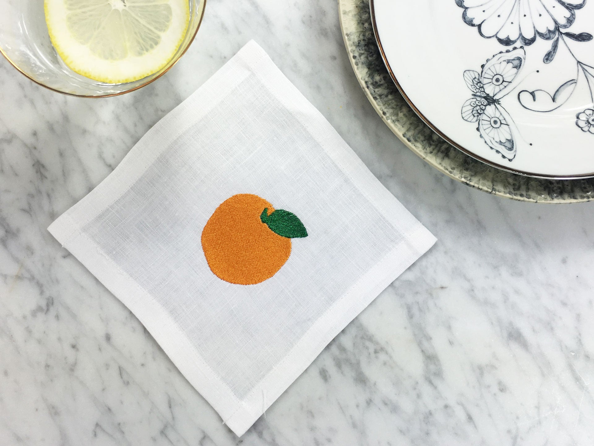 Make it a Mimosa Cocktail Square Set
