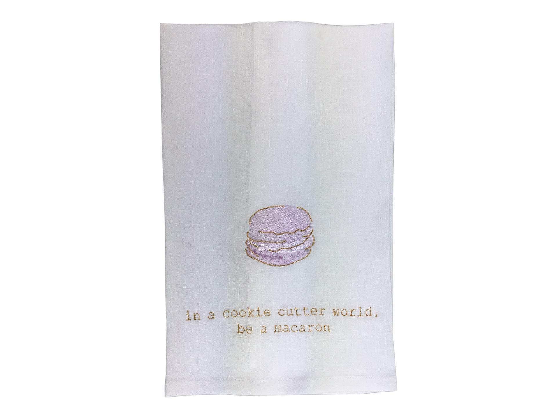 Macaron Motivation Tea Towels