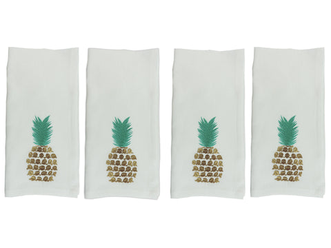 Pineapple Napkin Set