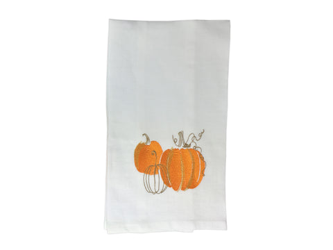 Pumpkin Spice Tea Towel