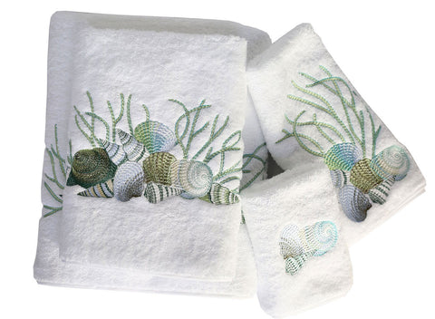 Shell Roma Bath Towels