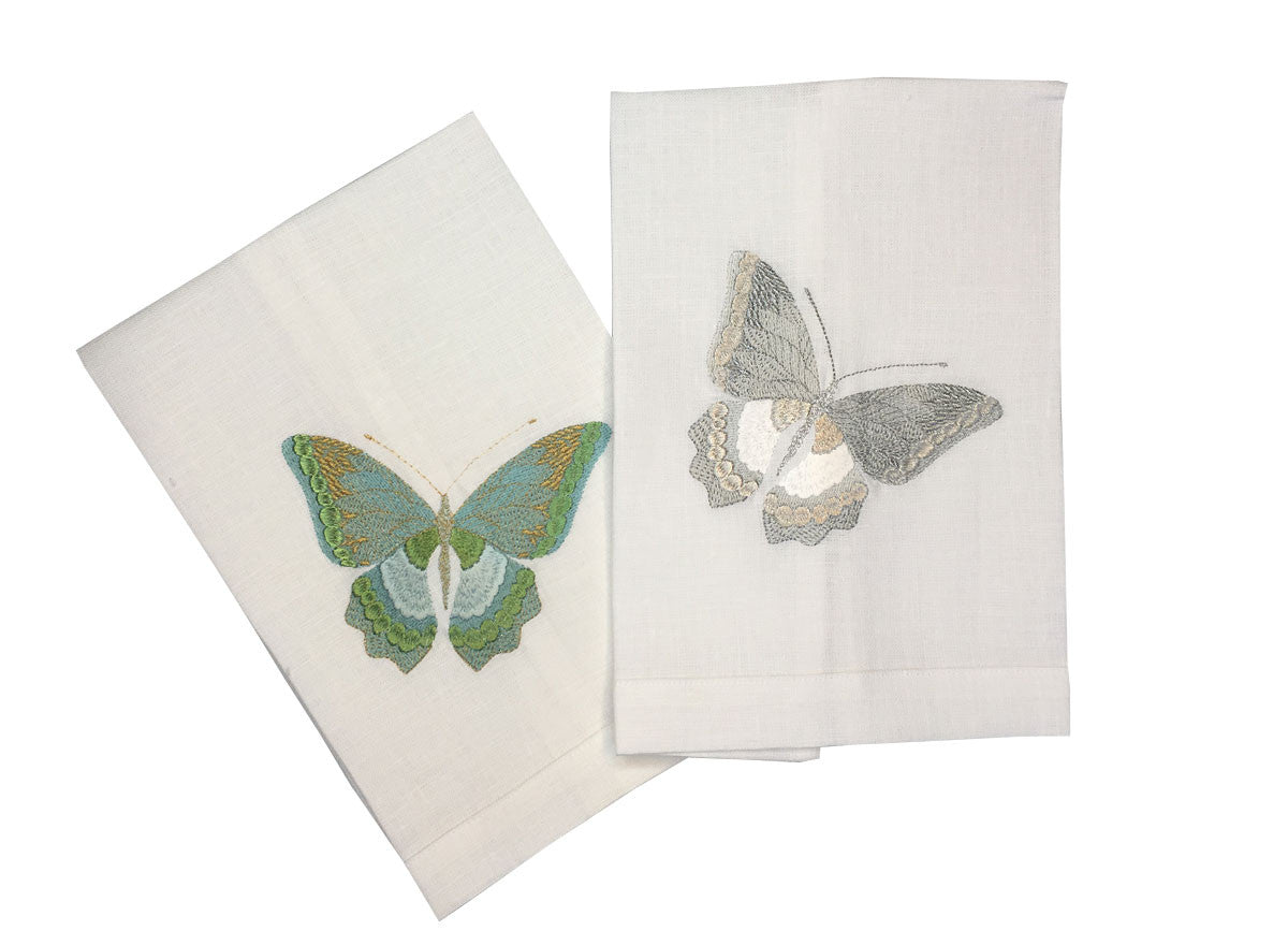 Butterfly ONE in Aqua (Left) in Silver (Right)