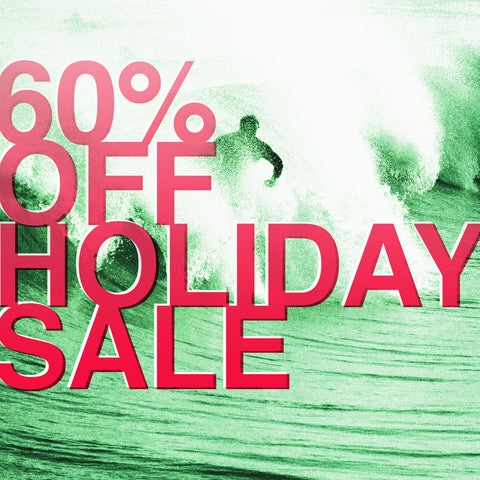 60% OFF HOLIDAY SALE!
