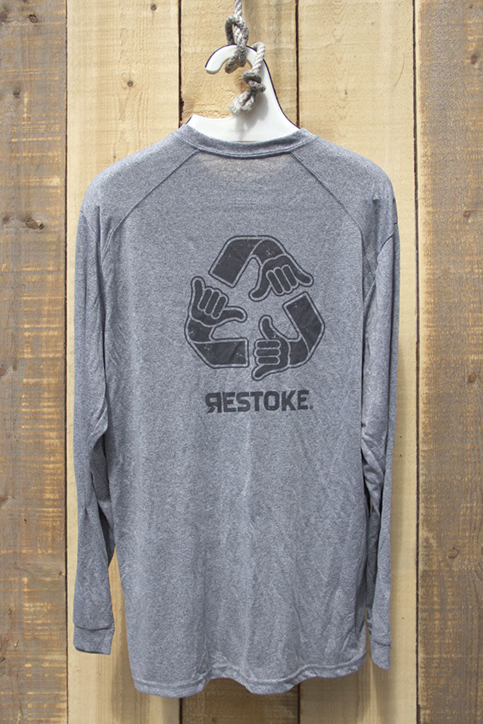 RESTOKE LONG SLEEVE SPORT TEE MENS