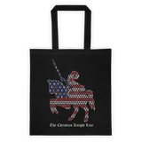 USA Christian Knight Tote Bag