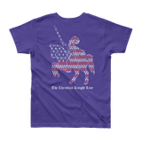 One Nation Under God Youth Short Sleeve Tee