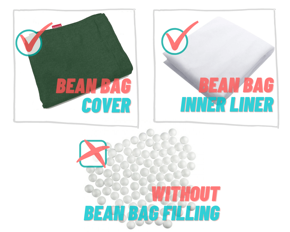 FREEASY® #70 Bean Bag - Green