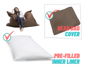 FREEASY® #70 Bean Bag - Brown