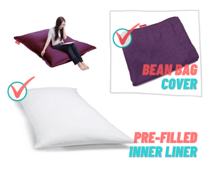 FREEASY® #70 Bean Bag - Purple