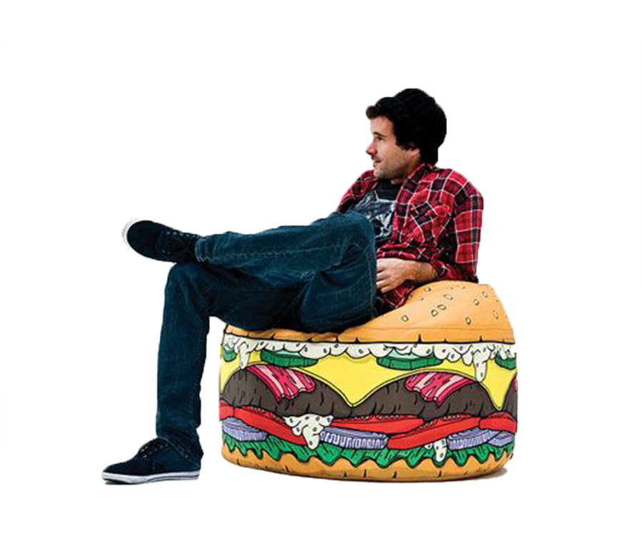 Burger Bean Bag