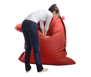 red beanbag