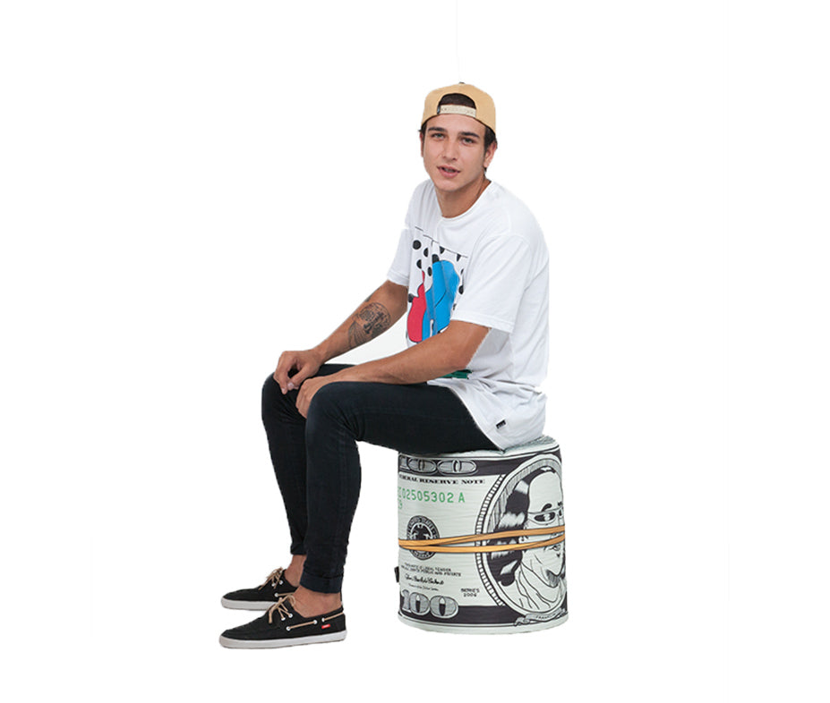 Dollar Bean Bag Stool